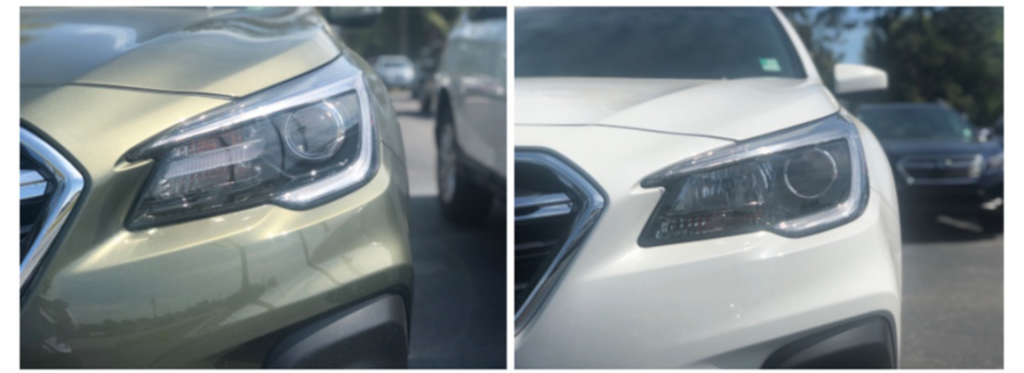 Subaru Outback Premium vs Limited Headlights