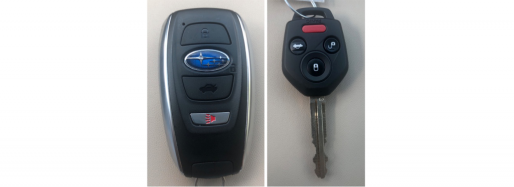 Subaru Outback Premium vs Limited Key