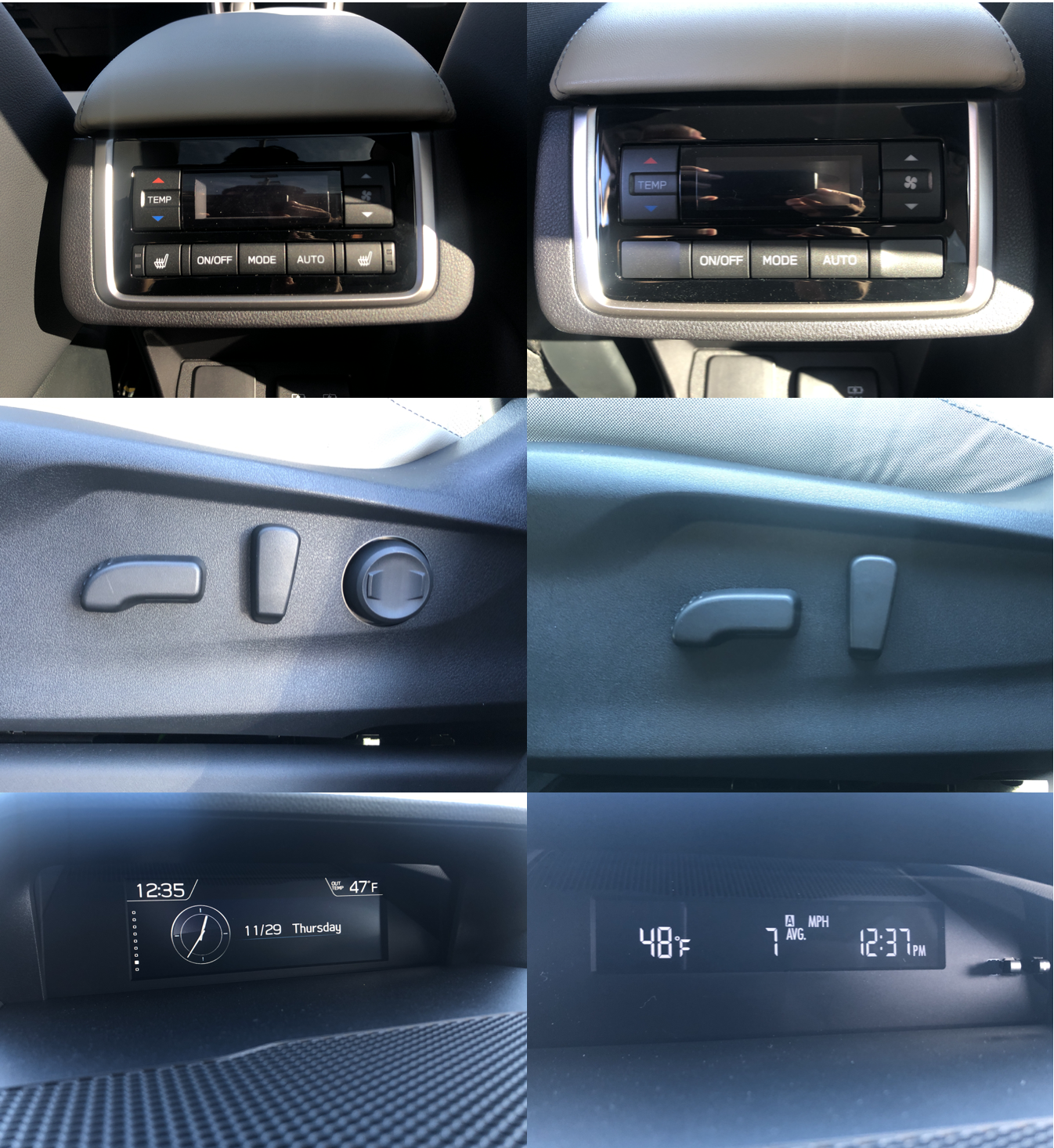 Interior differences between premium and limited ascent